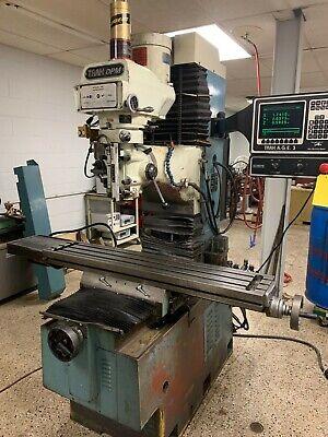 Trak Dpm Cnc Vertical Bed Mill Milling Machine Prototrak Age 3