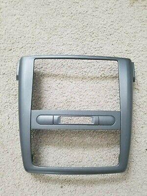 Chevy Cobalt - Radio Climate Control Plastic Bezel Center Dash Trim Gray OEM