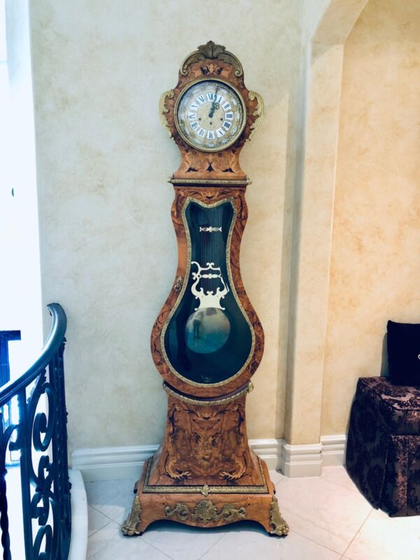 ExquisiteHardToFind Franz Hermle Le Ore Rare Italy germany GrandFather clock