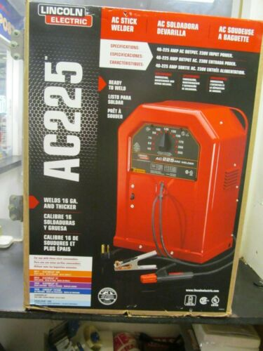 Lincoln Electric AC-225 Arc/Stick Welder ~ NEW IN BOX - Local pick-up