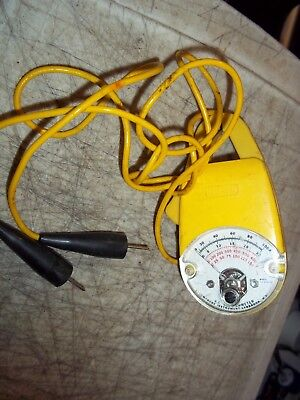 Amprobe Yt-525100 A.c. Volt Ammeter Clamp Multimeter Yellow W Yellow Probes