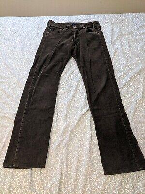 PAUL SMITH  Brown Slim Fit Cotton Jeans Size 30 see description