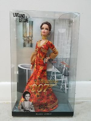 *NEW* Barbie Collector James Bond 007 Live and Let Die Solitaire 2010, T4551