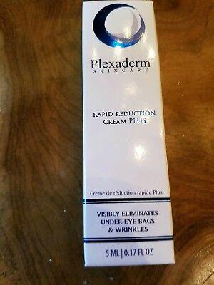 NEW PLEXADERM Rapid Reduction Cream PLUS Eliminates Under Eye Bags Wrinkes