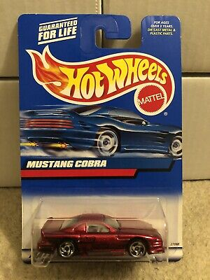Hot Wheels Mustang Cobra #121 From 2000. Made In India. NM