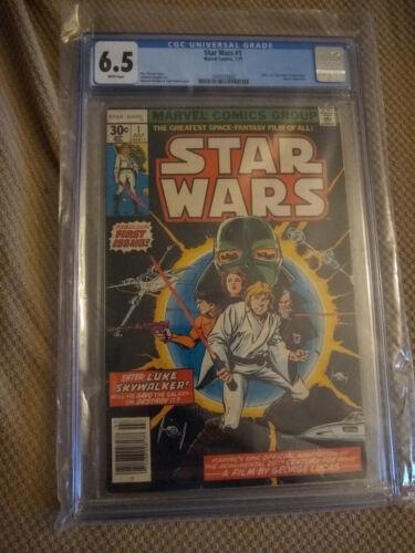 Marvel STAR WARS #1 7/77 First Printing CGC 6.5 Sealed