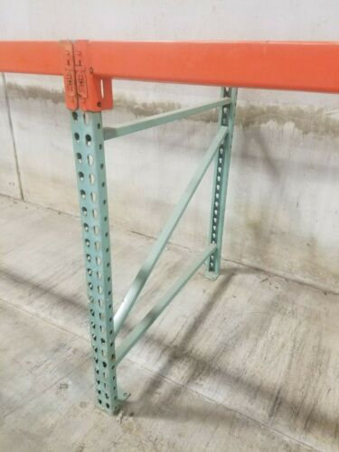 "48"" Tall Pallet Rack Uprights, 42"" Deep. Makes a Great Workbench Beams available"
