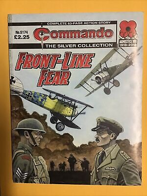 Commando Comic/ The Silver Collection - Front Line Fear   2018