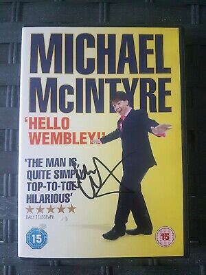 SIGNED Michael McIntyre Hello Wembley -stand-up comedy DVD *Ideal Xmas Gift ()