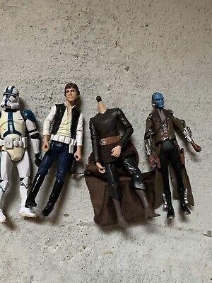 Star Wars 501st Legion Clone Trooper Han Solo Cad Bane Count Dooku