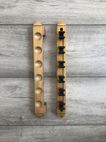 Wooden Pool/snooker Cue Holder