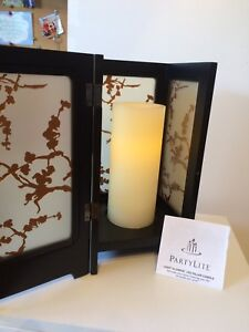 Partylite LED candle with stand
