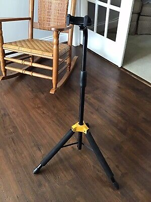 Hercules Stands GS414B PLUS Guitar Stand w/ Upgraded Auto-Grip System