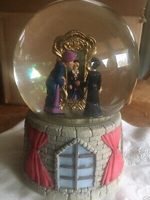 Harry Potter Musical Snow Globe Mirror Of Erised - Quirrel and Harry - RARE