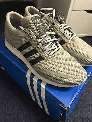 Adidas  Los Angeles White Trainers SIZE 10.5