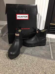 Hunter Short Neoprene Boots Size 9