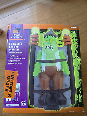 Airblown Inflatable Halloween Frankenstein Animated Shaking Lighted Monster