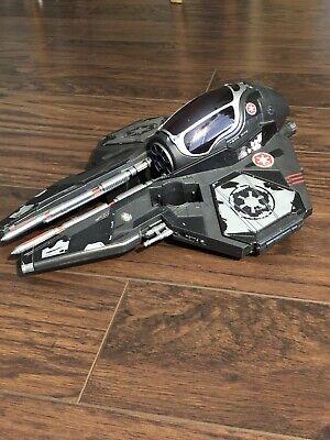 STAR WARS Darth Vader's Sith Starfighter 30th ROTS 2006 Hasbro Jedi Starfighter