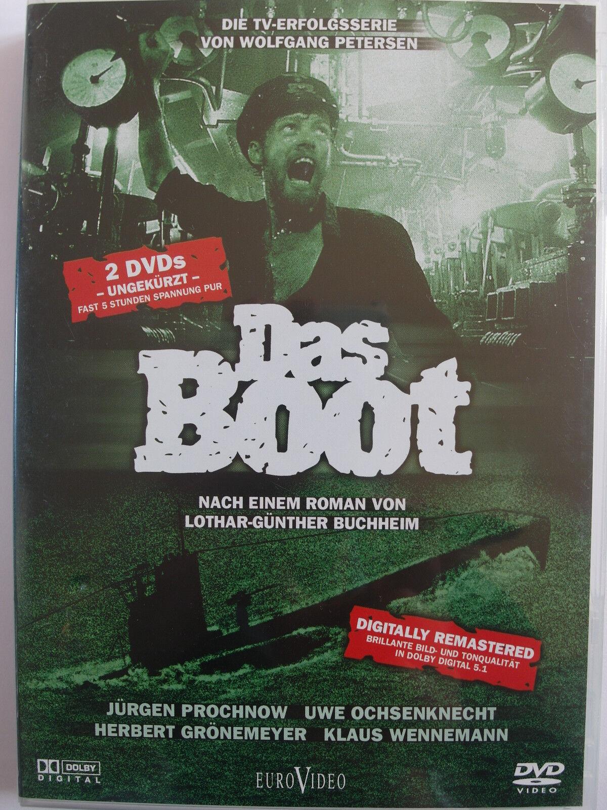 Das Boot - TV Serie Lang Fassung - Petersen, Ochsenknecht,