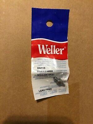 Brand New - Weller Ds113 Desoldering Tip Ds80dsv80