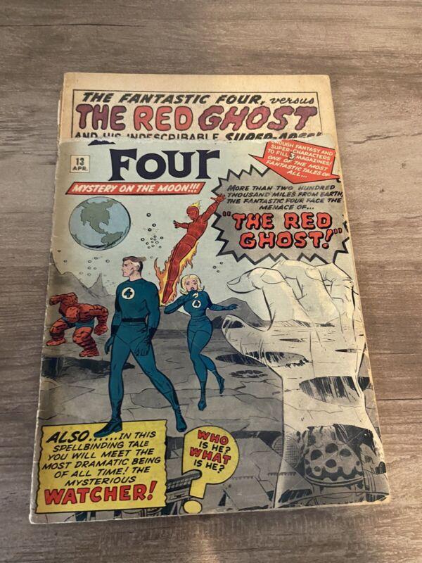 Fantastic Four #13, 1st Watcher!