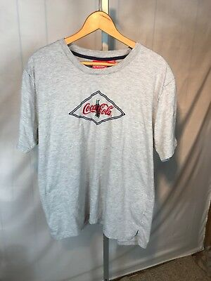 Coca Cola 90s vintage mens t shirt XL Runs Small soda tee Embroidered (AL)