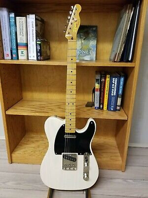 Fender Squier Classic Vibe 50s Telecaster Electric Guitar - White Blonde