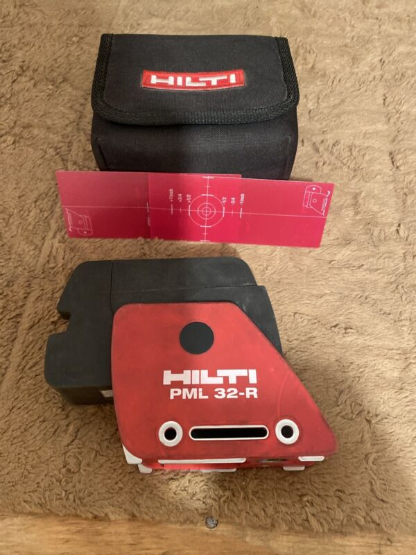HILTI PML 32-R Red Line Laser Level with carrying case