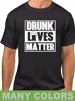 Beer Drunk Lives Matter T Shirt St Patricks Day Tee Party Gift Present T-Shirt (St Patricks Day Party)