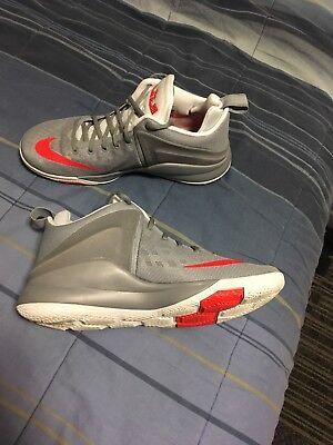 4e00b88a86f Nike Lebron James Zoom Witness Grey Basketball Mens US 10.5