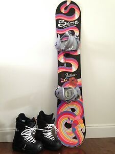 Sims Pristine Snowboard - Women's GREAT FOR BEGINNERS