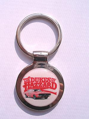 Dukes of Hazzard Key Chain, Dukes of Hazzard TV Logo Keychain, Dukes of Hazzard