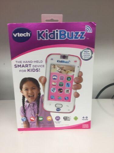 VTech KidiBuzz Hand-Held Smart Device PINK & WHITE NEW SEALE