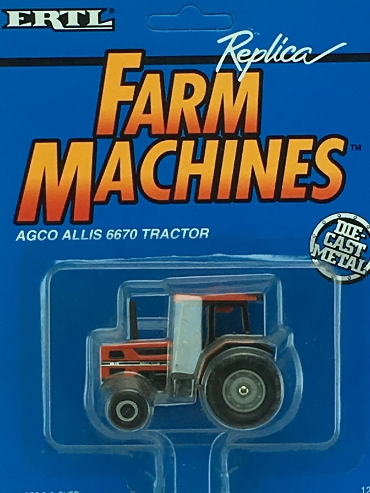 1/64 ERTL AGCO ALLIS 6670 2WD TRACTOR