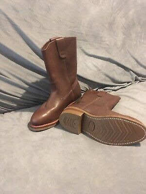 Vintage Iron Age Mens Steel toe Ranch Boots. 7M
