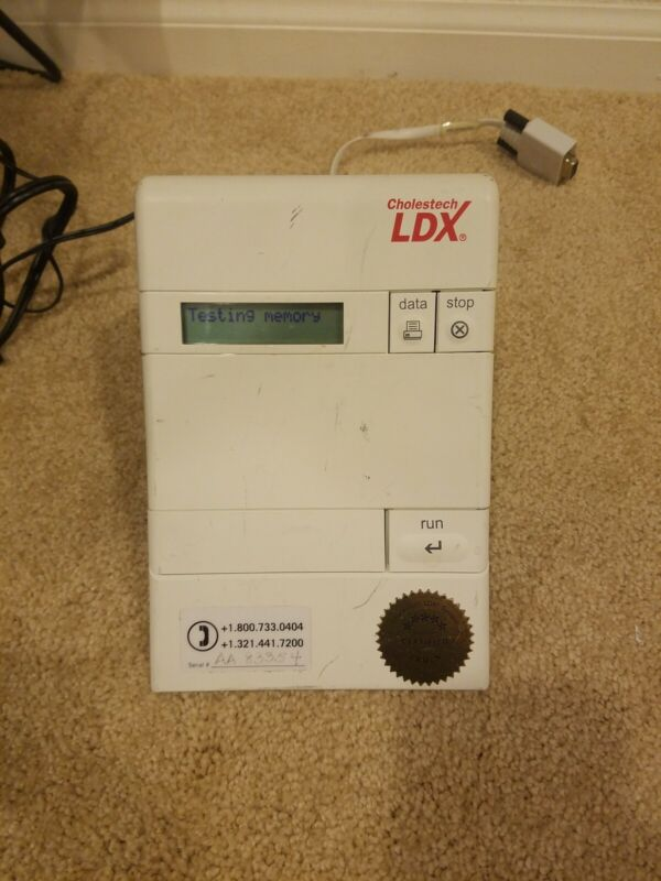 CHOLESTECH LDX ANALYZER. USED. PRE-TESTED. GOOD WORKING CONDITION. (FREE SHIP)