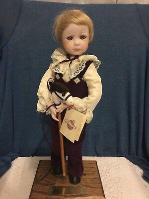 The Collectables Porcelain Doll by Phyllis Parkins 1st Edition Andrew 742/1000