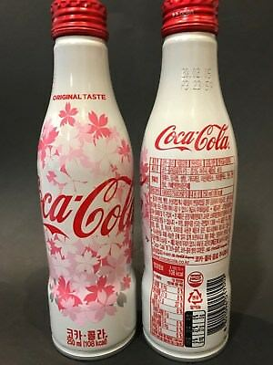 Coca Cola Korea - NEW 2018 aluminium bottle.  Full and perfect.