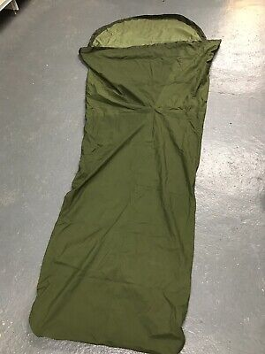 Genuine British Army Issue Olive Green Goretex Bivi / Bivvy Sleeping Bag Cover