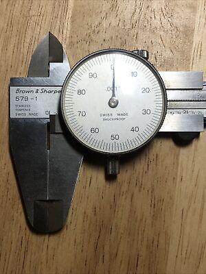 Brown Sharpe 579-1 Dial Caliper