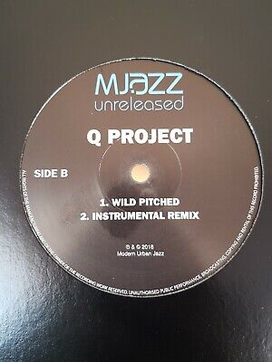 Q PROJECT - UNRELEASED - INSTRUMENTAL REMIX / GUITAR THING / WILD PITCHED