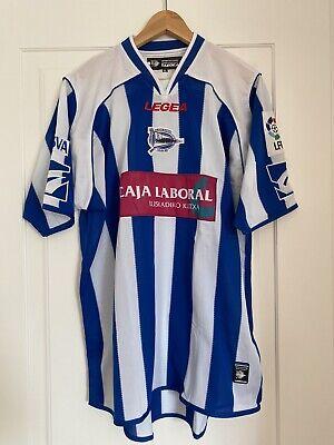 DEPORTIVO ALAVES 2008/09 football shirt adidas jersey maglia calcio camiseta  image