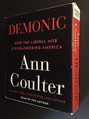 Audiobook On Cd  Demonic  Ann Coulter