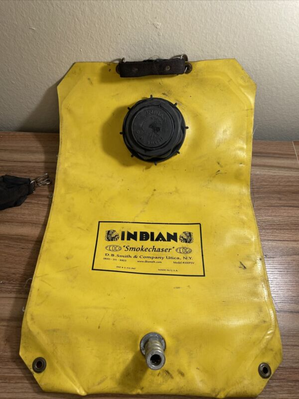 500FSV Fedco Smoke Chaser Fire Pump, Gal, Yellow Lawn Garden Sprayer Bag Tank