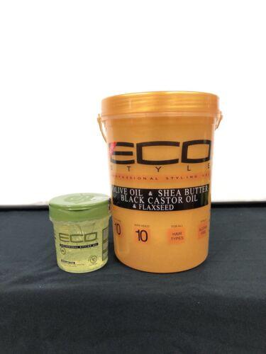 Eco Style Gold 5 Lb Olive & Shea Butter Black Castor Oil&o