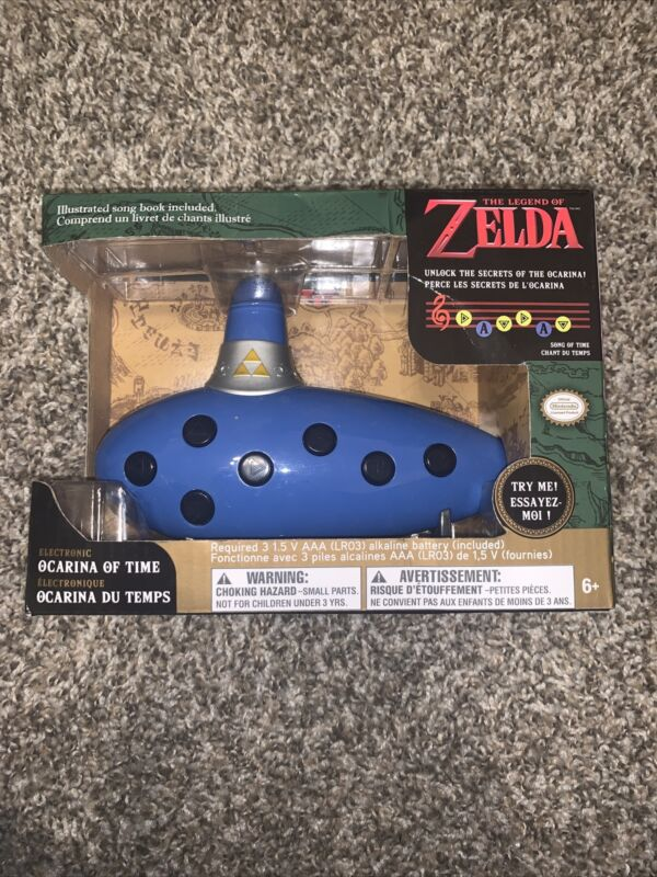 Legend of Zelda Electronic Ocarina Of Time by Think Geek