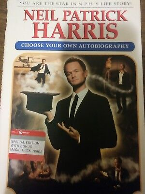 Book - Neil Patrick Harris: Choose Your Own Autobiography - (Neil Patrick Harris Choose Your Own Autobiography)