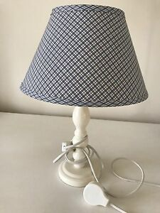 Laura Ashley Home white and blue lamp Mosman Mosman Area Preview