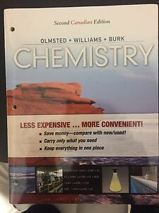 Chemistry: olmsted williams burk. 2nd canadian edition