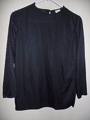 boys BLACK HALLOWEEN COSTUME SHIRT TOP SHIELDS KNEES ARM BELT 10/12 MEDIUM NICE!